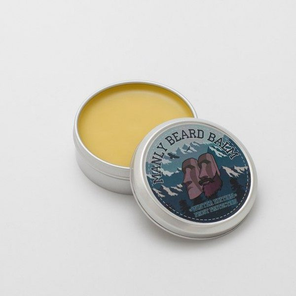 "Бальзам для бороды MANLY BEARD BALM ""winter edition"" frost protection 40 мл-1"