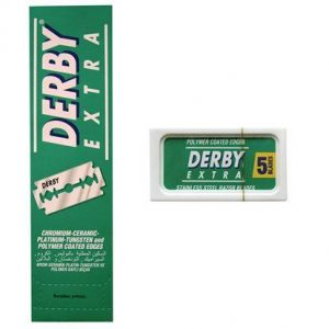 Лезвия Derby Extra stainless double edge box 100 шт./упак.