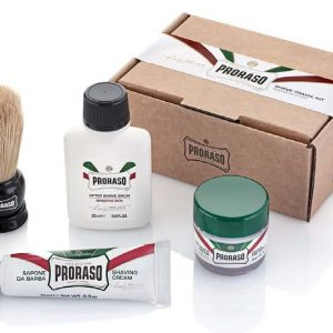 Набор для бритья Proraso shave travel kit refresh 400354
