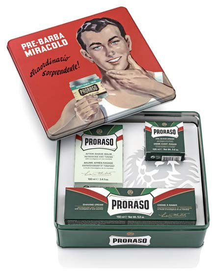 Набор для бритья Proraso vintage selection gino 400359
