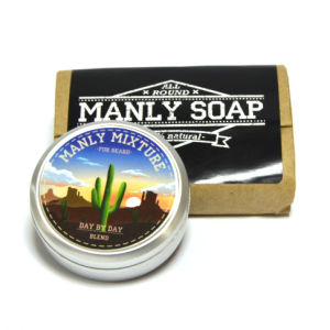 Набор: мыло Manly Soap и масло для бороды Manly Mixture DAY by DAY