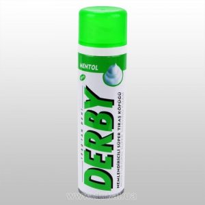 Пена для бритья Derby Shaving foam Menthol 200 мл